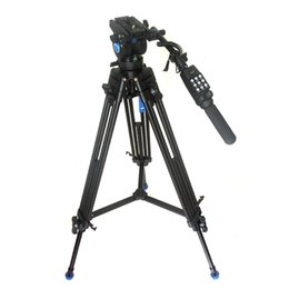 Wholesale Benro Tripods - New Pro Video Camera Camcorder Fluid Drag Tripod KH25N Benro KH-25 + RM25X Remote Control For Canon XL1 XL1S XM1 Sony FX1E