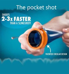 Wholesale Cheap Quality Toys - catapult sport outdoor pocket shot without hoodle poratable small slingshot hunting fast shoot speed toy high quality and cheap top selling
