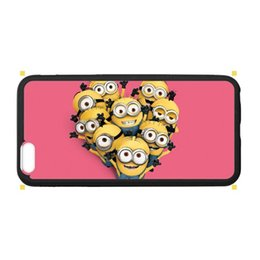 Wholesale Cheapest Iphone Custom Case - Free shipping sell plastic cell phone protectors back cover for smart phone print custom despicable me cheap cases for Apple iphone 6S Plus