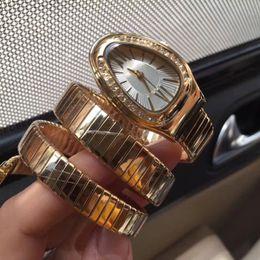 Wholesale Quartz Egg Watch - Dress AAA ladies watches luxury brand Egg dial diamond bezel Full Stainless Steel band casual quartz watch for women girls female wristwatch