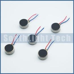Marcas vibradores on-line-Atacado Original Marca Nova 3 V Coin Micro Motor 8mm X 2.7mm Vibrador Do Telefone Celular 0827 Mini Vibração De Vibração De Brinquedo Com Fios de Chumbo