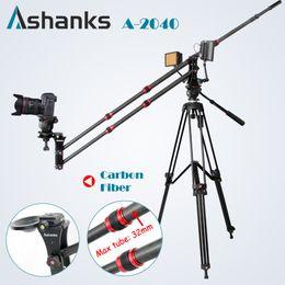 Wholesale Carbon Fiber Camera Bag - Wholesale-Ashanks Carbon Fiber jib crane Portable Pro DSLR Video Camera Crane Jib Arm Standard Version+Bag free shipping