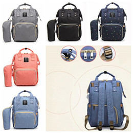 Wholesale Maternity Nursing Clothing - 5 Colors Mommy Backpacks Nappies Diaper Bags Maternity Backpack Vogue Mother Handbags Outdoor Waterproof Nursing Travel Bags CCA7872 3pcs