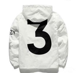 2019 chaqueta de viaje yeezus Chaqueta de moda casual para hombre 2018 Virgil Yeezus Windbreaker Y- 3 Tour Kanye West Temporada MA-1 piloto Chaqueta de hip hop Entrega gratuita chaqueta de viaje yeezus baratos