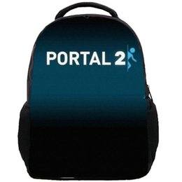Wholesale Good Soft Lighting - Portal backpack Shoot game school bag Free shipping Portal2 sport daypack Good schoolbag Quality day pack