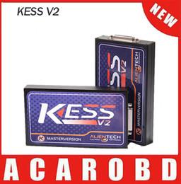 Wholesale New Kess V2 Obd2 - 2016 New Arrival KESS V2.15 OBD2 Tuning Kit No Token Limitation Kess V2 Master FW V4.036 Master Version DHL Free Shipping
