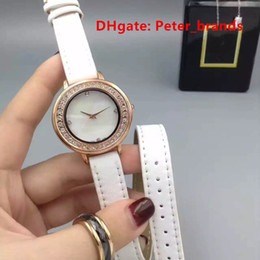Wholesale Long Leather Dresses Cheap - Cheap fashion lady quartz brand watches wholesale price long leather strap modern style for girls watches free shipping