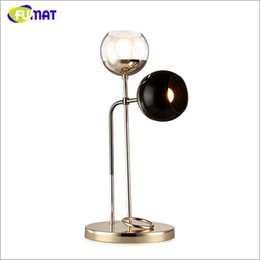Wholesale North Table - Creative Art Bubbles Table Lamp North European Post Modern Brief Glass Metal Table Lamp Project Living Room Office Bedside Lamp