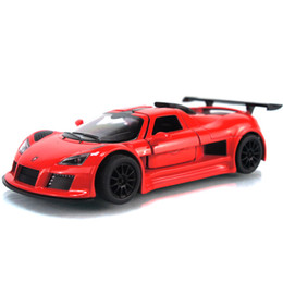 Wholesale Top Baby Model - Wholesale-Free shipping Top soft world alloy car model baby educational scale models PA1047