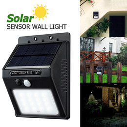 Wholesale Solar Power 16 Led - LED Solar Light 16 LED Outdoor Wireless Solar Powered PIR Motion Sensor Solar Lamp  Wall lamp  Security lights Garden Light LEG_200
