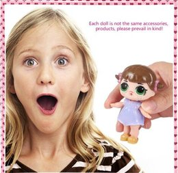 Wholesale Change Style - LOL SURPRISE DOLL Lil Sisters Color Change Realistic Baby Dolls 45+ to Collect suprise Dress Up Baby Toys Size 7.5cm Random style free DHL