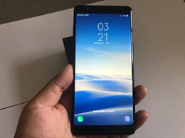 Wholesale Note Mtk6592 Octa Core - 6.3inch Goophone Note8 Note 8 MTK6592 Octa Core 4GB RAM 64GB ROM Android 7.0 Fingerprint 13MP 4G LTE Unlocked Smartphone DHL Free