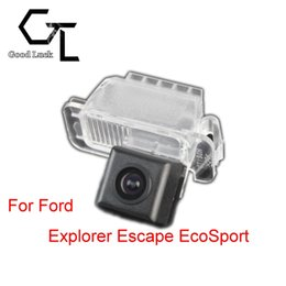 Wholesale Rear View Camera For Ford - For Ford Explorer Escape EcoSport Wireless Car Auto Reverse Backup CCD HD Rear View Camera Parking Assistance