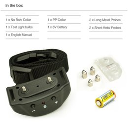 Wholesale Electronic Bark Stop Collar - No Bark Electronic Collar Pet853 Anti Dog Bark Collar With 7 Levels Shock Pet 853 to Let Dog Bark Stop