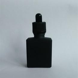 Wholesale Electronic Cigarette Juice Liquid - Favourable price 30ml Matt Electronic cigarette bottle with Silk screen label, Rectangular Bottle E juice Liquid bottle Free shipping SALE