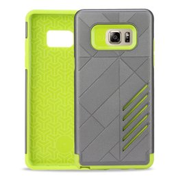 Wholesale Dropshipping Hard Case - Dropshipping 2IN1 Cool Slim Armor Dual Layered Hybrid protector Hard BOX Case Back Cover for Samsung Galaxy Note 7 Note7 N930F N930 DHL Free