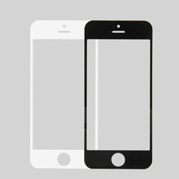 Wholesale Iphone 5s Touch Glass Replacement - 5C Replacement LCD Front Touch Screen Glass Outer Lens for iphone 5s outer glass for iphone 5C 5s SE with Free Shipping