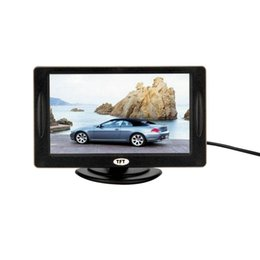 """Wholesale Dvd Accessories - New 4.3"""" Color TFT LCD Rearview Car Monitors for DVD GPS Reverse Backup Camera Vehicle driving accessories hot selling"""
