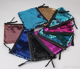 Wholesale Low Wholesale Prices Fashion - Lowest Price !! Fashion Handbags Sequins Clutch Bag Mermaid Sequin Purse Mermaid Makeup Bags Cosmetic Bag Glitter Sequins Coin Bags