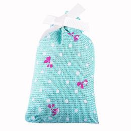 Wholesale Natural Baskets Wholesale - Wholesale- WX New Natural Incense Cotton Sachet Bag Air Freshener Car Flavor Aromatize Wardrobe Jasmine Room Basket Closet Sachet