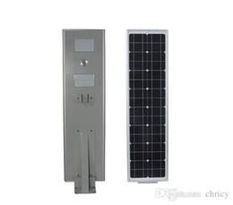 Wholesale Industrial Solar - New arrivals PIR motion sensor stand alone solar power street light 100W integrated solar street light ip65 3 years Warranty