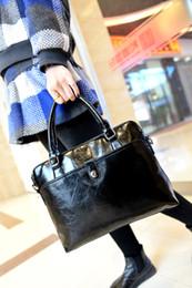 Wholesale Europe Style Handbag - 2016 new trends in Europe and the United States oil bag ladies bags shoulder bag handbag fashion handbag bag