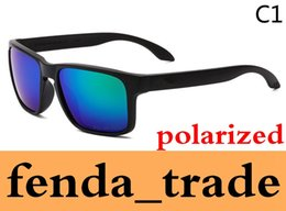Wholesale Glasses Sport Cycling Polarized - Promotion HOT SALE Brand Polarized Holbrook Sunglasses Men Women Sport Cycling Glasses Eyewear Goggles Eyewear 9 color options MOQ=10pcs