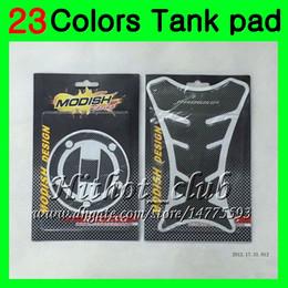 Wholesale Hayabusa Carbon - 23Colors 3D Carbon Fiber Gas Tank Pad Protector For SUZUKI GSXR1300 Hayabusa GSXR 1300 1996 1997 1998 1999 2000 2001 07 3D Tank Cap Sticker