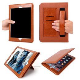luxury cases for ipad Coupons - Leather Case For Apple Ipad Mini Air Pro 1 2 3 4 5 6 Pro 10.5 11 12.9 Luxury Housing With Auto WakeUp+Sleep Flip Cover Tablet Holder GSZ379