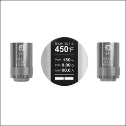 Wholesale Ego Replacement - Best Replacement Joyetech Cubis BF Coil Heads EGO AIO Kit SS316 Clapton Ni Ti NotchCoil DL MTL Tank ECigs Anti Leaking Atomizer Coils