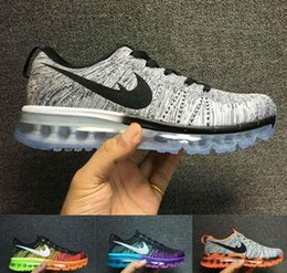 Wholesale Walking Boots Men Sale - Free Shipping 2017 New Max Running Shoes Men Cheap Sneakers Hot Sale Walking Boots Walking Sport Shoes Sneakers Zapatillas Size Eur 40-45