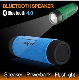 2019 s1 mp3 Zealot S1 Bluetooth Speaker портативный сабвуфер Power Bank аккумуляторная со светодиодной подсветкой для спорта на открытом воздухе+велосипед монтажный кронштейн дешево s1 mp3