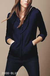 Wholesale Women S Long Hooded Cardigans - Hot Sale Women's Hoodies & Sweatshirts New Fashion Long Sleeve Slim Hooded Warm Fleece sweatshirts Brand Ladies Clothes