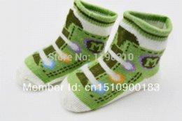 Wholesale Ship Kids Socks - 2015 Boys baby sock lovely candy color canvas shoes shape unisex floor socks High Quality Kids socks indoor socks free shipping