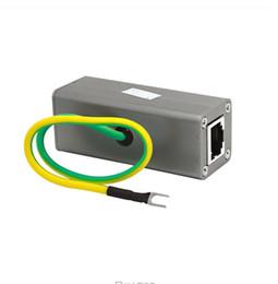 Wholesale Ethernet Protector - Wholesale-Ethernet Surge Protector for Gigabit and PoE High PoE+ (HPoE) Ethernet Network LAN Network Lighting Surge Suppressor Arrester