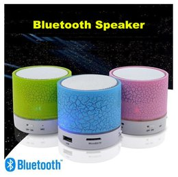 Wholesale Mini Music Center - A9 Bluetooth Speakers Mini Wireless Portable Speaker HI-FI Music Player Stereo Subwoofers Home Audio Support TF Card FM Mp3 Player