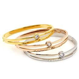 Argent Or Hommes Femmes En Acier Inoxydable Couples Bracelet Sculpture Chiffres Romains Amant Manchette Bracelet Bijoux De Mariage Bracelets ? partir de fabricateur