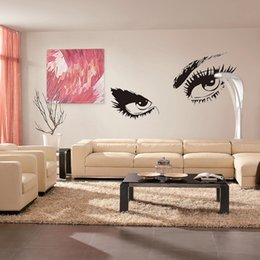 Wholesale Eye For Diy - Home Decor Sexy Eyes Wall Stickers Wall Stickers Exquisite Family DIY according to your own preferences