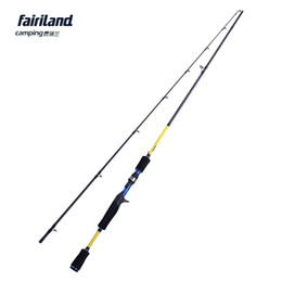 """Wholesale Blue Express - Fairiland 6' 6'6"""" 7' Casting Rod with ML M Power Baitcasting Rod High Carbon Fishing Rod Lure Fishing Pole Express line free shipping"""