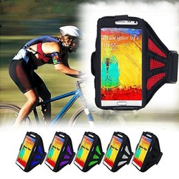Wholesale Galaxy S3 Arm - Running SPORTS GYM Case for Samsung Galaxy S3 S4 S5 S6 Arm Phone Bag Running Accessories Band Gym Pounch Belt Cover