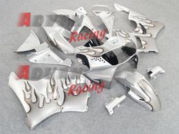 Wholesale Cbr 919 Fairings - Free shipping HONDA--CBR 900RR 919 98-99 motorcycle fairing Silver ABS Fairing Bodywork Plastic Kit Set Honda CBR900RR 1998-1999 023.