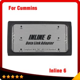 Wholesale Links Data - 2016 New Inline 6 Data Link Adapter INLINE 6 Insite Diesel Truck Diagnostic Tool with Good Quality DHL free
