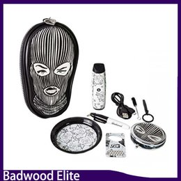 Wholesale Elite E - Badwood Elite Dry Herb Vaporizer Kit Temperature Control Herbal Vaporizers E Cigarette Vape Pens With OLED Display 0268060-1