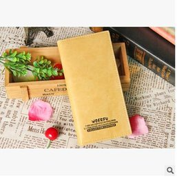 Wholesale Korean Couple Wallet - 2015 Ms. Taobao new leather wallet Ms. Clutch purse Korean couple students factory direct grant
