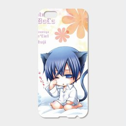 Wholesale Anime Iphone 5c Case - For iPhone 6 6S Plus SE 5S 5C 4S iPod Touch 6 5 Hard PC Anime Butler Phone Cases