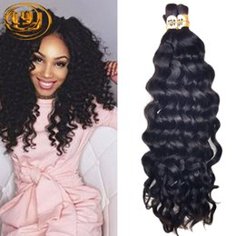 Wholesale Curly Brazilian Unprocessed Human Hair - Hot Sale 7A Deep Curly Brazilian Bulk Human Hair For Braiding 100% Unprocessed Human Braiding Hair Bulk No Weft Indian Hair Bulk