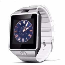 Wholesale Recording Iphone Calls - DZ09 Smart Watch Wrisbrand Android iPhone iwatch Smart SIM Intelligent mobile phone watch can record the sleep state Smart iwatch MQ100