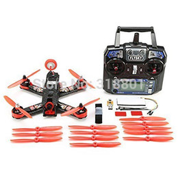 Wholesale Brushless Combos - Wholesale- 210mm Mini Quadcopter FPV Racer Drone RTF Full Set Combo with CC3D Racing Flight
