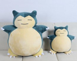 "Wholesale Baby Toy For Sales - 2017 30 40 50cm Hot Sale Poke Pocket Monsters Snorlax 6"" 15cm Plush Doll Stuffed Toy Pikachu Animals For Baby Gifts"
