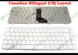 Wholesale Hp Pavilion Dv4 Keyboard - New Laptop keyboard for HP Pavilion dv4 dv4-2000 White CB Canadian French (Canadian Bilingual) Version - 518792-121